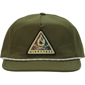 Hippy Tree Bonfire Casquette Homme, military